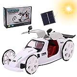 Kqpoinw Giocattolo Solare, STEM Toys Kit Scientifici Educativi Energia Solare Giocattolo per Bambini Fai-da-Te Regalo di Compleanno per Ragazzi e Ragazze dai 6 Anni