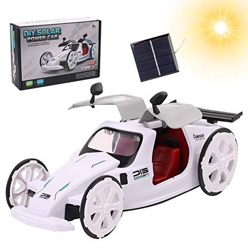 Kqpoinw Juguetes Stem, Fun Juguete Solar Robot Kits De Ciencia Educativos DIY Robot Solar Juguete Coche De Juguete con Energía Solar Regalo De Cumpleaños para Niños y Niñas De 6 Años En Adelante