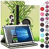 UC-Express Tablet Tasche kompatibel für Wortmann Terra PAD 1004 Universal Schutzhülle aus Kunstleder Hülle Tasche Standfunktion 360° Drehbar Cover Case, Farbe:Motiv 11