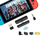 PURBHE Switch Bluetooth Adapter for PS4, PC, Nintendo...