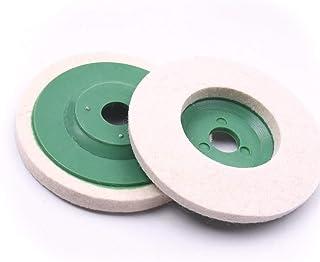 Atoplee 5pcs 3.86'' 98mm Wool Polishing Buffing Wheel Pad Bore Dia