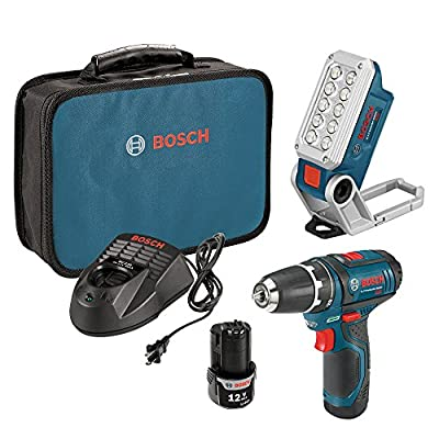 Bosch Max Lithium-Ion 3/8-Inch 2-Speed Drill/Driver Kit