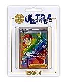 Copieuse (Copiona) 222/192 Arcoíris Secreta Entrenadore - Ultraboost X Epée et Bouclier 7 Évolution Céleste - Box de 10 Cartas Pokémon Francés