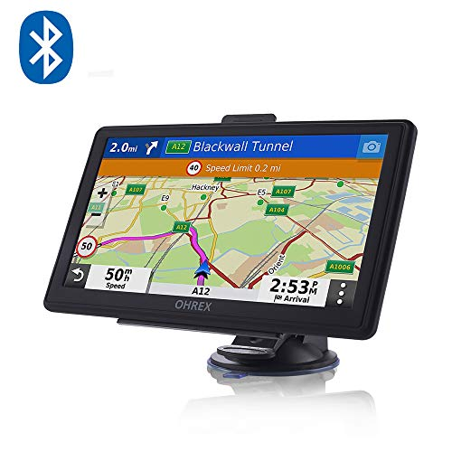 OHREX SAT NAV, With Bluetooth handsfree Calling, 7 inch Screen,...