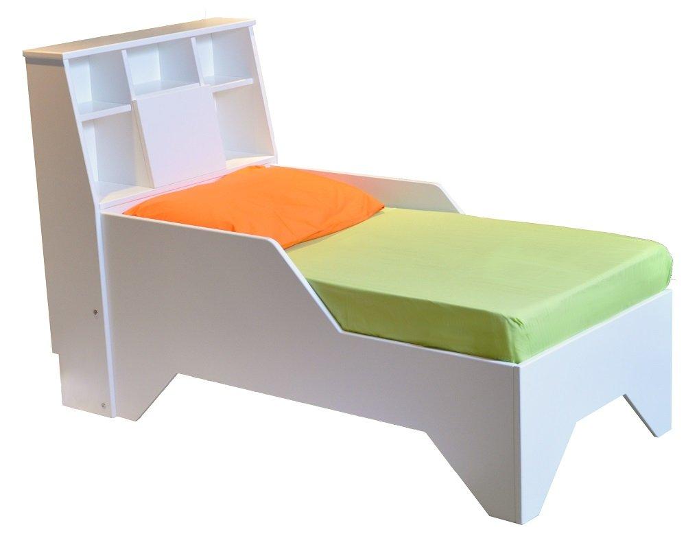Fable Bedworks Cama de Mesa Firefly de Madera Hecha a Mano para niños con Respaldo: Amazon.es: Juguetes y juegos
