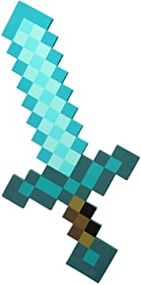 Pixel Foam Sword Foam Blue Diamond Sword for Boys and Girls for birthday party Pixel Miner Gaming not minecraft