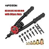 HTYA Premium Easy Automatic Rivet Tool Set 605-60pcs