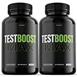 (2 Pack) T Boost Max for Men Supplement (120...