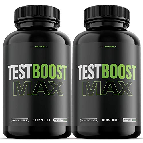 (2 Pack) Test Boost Max for Men Supplement (120 Capsules)