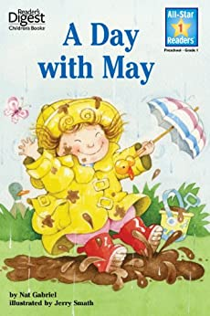 A Day With May (Reader's Digest) (All-Star Readers) by [Nat Gabriel, Jerry Smath]