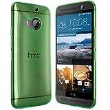 moodie Silikonhülle für HTC One M9+Hülle in Grün - Hülle Schutzhülle Tasche für HTC One M9 Plus