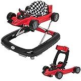 ib style® LITTLE Racer | 2 Fonct. | Trotteur| sons & lumière |EN 1273:2005 | ROUGE