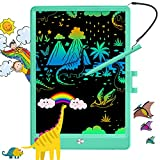 hockvill Learning Toys for 2-6 Years Old Girls Boys,10 Inch LCD Writing Tablet Doodle Board, Educational Birthday Gift for 3 4 5 6 7 Years Old Kids Toddler