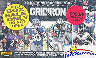 2012 Panini Gridiron Football Factory Sealed HOBBY Box with FOUR(4) AUTOGRAPH or MEMORABILIA Cards! Look for Rookies & Autographs of Russell Wilson, Andrew Luck & all Top NFL Picks! WOWZZER!