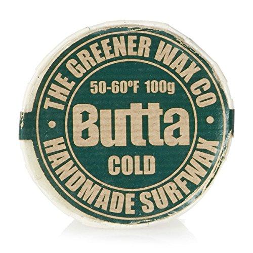 Butta Cold - Cera para tablas de surf, 100 g, blanco, unisex