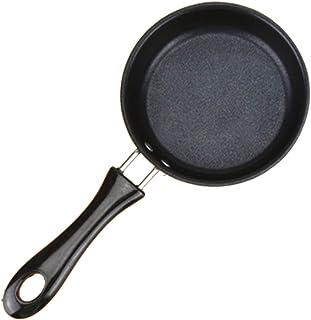 Gugutogo Mini sartén antiadherente Wok plana filete sartén Wok crepe huevo tortilla de masa hervida Pan cocina de inducción universal