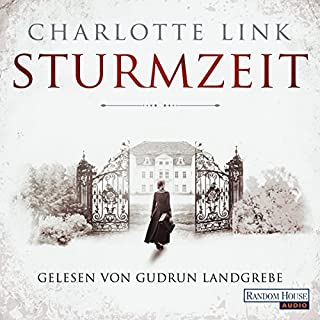 Sturmzeit     Sturmzeit-Trilogie 1              Autor:                                                                                                                                 Charlotte Link                               Sprecher:                                                                                                                                 Gudrun Landgrebe                      Spieldauer: 7 Std. und 49 Min.     290 Bewertungen     Gesamt 4,0