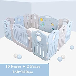 WGYDREAM Baby Playpen  Baby Playpen Pcs Including Fun Activity Panel Strong And Durable Made From Non-Toxic Materials