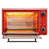 SFXYJ Toaster Oven, 48L Large Capacity,Fully Automatic,Digital Dining,Countertop Oven Digital Convection Polished Stainless