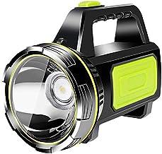 YUNYODA Super heldere LED oplaadbare zaklamp, led handheld zaklamp USB oplaadbare draagbare schijnwerper Grote batterijen ...