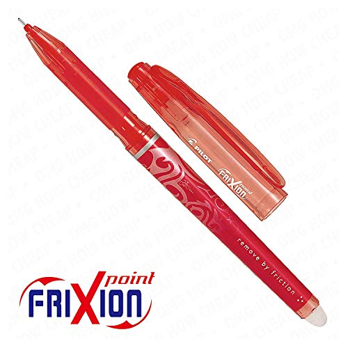 - Frixion Point Roller effaçable-Pointe Ultra Fine - 1 personne-Rouge