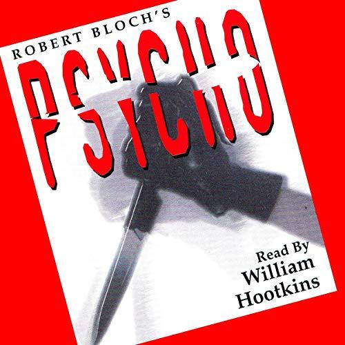 Psycho audiobook cover art