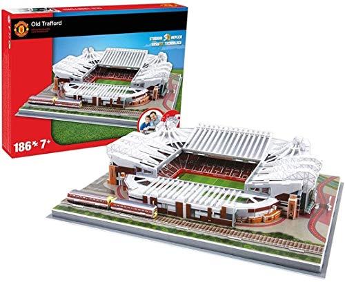 hsj Nanostad Manchester United Old Trafford Stadion 3D-Puzzle, exquisite Verarbeitung