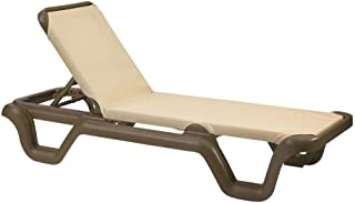 Grosfillex Marina Sling Chaise Lounge - US414137 (2 pack)