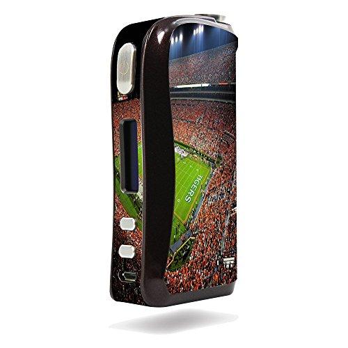 Aspire Pegasus Vape E-Cig Mod Box Vinyl DECAL STICKER Skin Wrap / College Football Stadiums