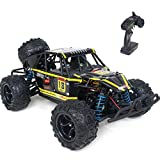 WOWRC Remote Control Car 1:18 RC Trucks, 2.4Ghz 4WD Off Road Rock Crawler Vehicle High Speed Racing All Terrains Rechargeable Electric Toy for Boys & Girls Gifts