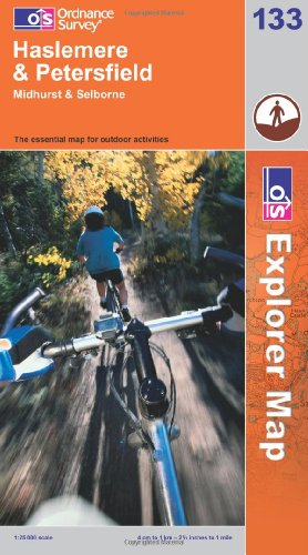 OS Explorer map 133 : Haslemere & Petersfield