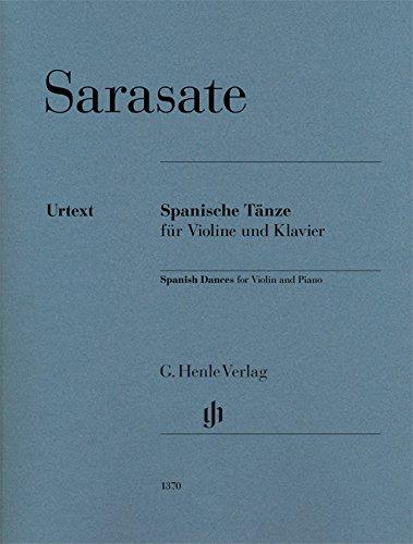 Spanische Tänze für Violine und Klavier: Partitur und Stimme(n)