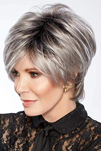 4Pc Bundle:Hollywood Lights Synthetic Wig by Jaclyn Smith, 8oz Mara Ray Luxury Shampoo, 19 pag Belle of Hope How to Guide, and Wide Tooth Comb (Color 12/23HS