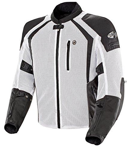 Joe Rocket Phoenix Ion Men's Street Motorcycle Jackets - White/X-Large