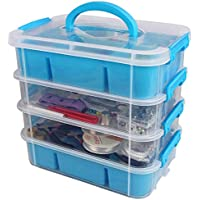 Stackable Plastic Craft Storage Containers