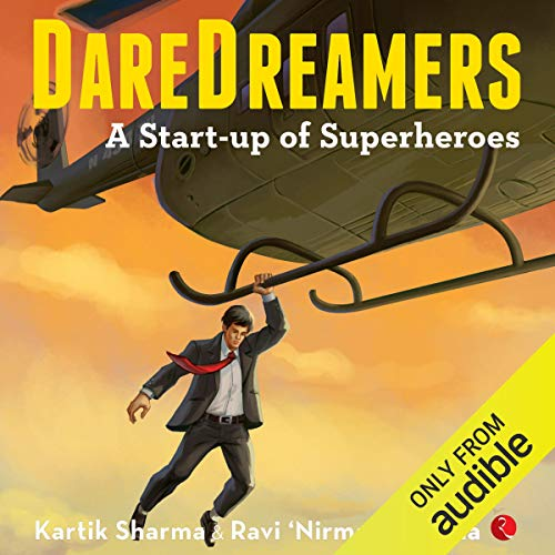 DareDreamers audiobook cover art