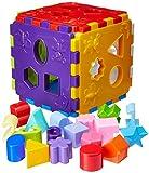Brinquedo educativo cubo didático com blocos Marca: Merco Toys Crianças de até 7 anos Número do produto: 54033