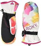 Roxy Roxy Jetty - Manoplas para Snowboard/Esquí para Mujer Manoplas para Snowboard/Esquí, Mujer, Bright White Sunshine Flowers, M