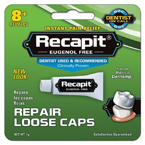 Recapit Cap And Crown Cement - 1 Grm, Pack of 4