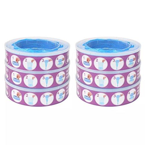 Disfruta Tus Compras con Recambios para contenedor de pañales Angelcare 6 Unidades