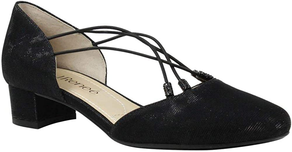 J.Renee Womens Charolette Closed Toe Slingback Classic Pumps