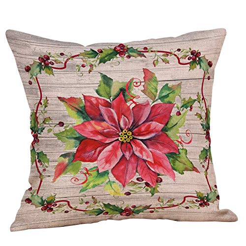 XCNGG Kissenbezug Home Kissenbezug Bettwäsche 2020 Vivid Pillow Design for Christmas...