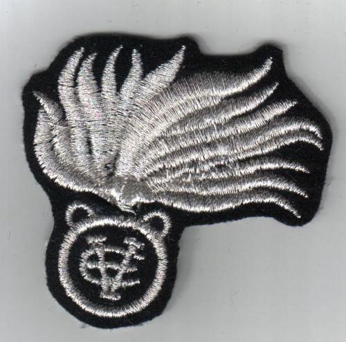 Militaria Fregio bustina Reali Carabinieri Sottufficiali - Fondo nero