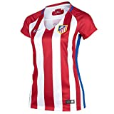 NIKE Atlético de Madrid W Nk Dry Stad JSY SS Hm Camiseta de Manga Corta, Mujer, Rojo (Varsity Red/White/Hyper Cobalt), XL