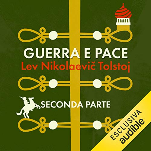 Guerra e pace audiobook cover art