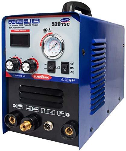 PLASMARGON Plasma Cutter 520TSC 120v 220v Inverter 200A 3 in 1 TIG Welder ARC MMA Stick Welder 50A TIG/MMA Plasma Cutter Welding Machine Dual Voltage