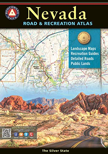 Compare Textbook Prices for Nevada Road & Recreation Atlas 7th Edition, 2020 Edition ISBN 9780929591698 by Benchmark Maps,Benchmark Maps,Benchmark Maps,Benchmark Maps