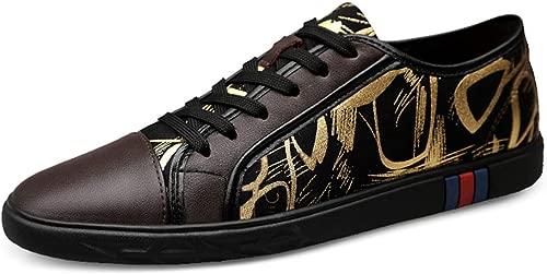 XSY2 Mens Casual Schuhe 2019 Neue Schnürschuhe Komfort Atmungsaktiv Fahrende Turnschuhe S  Schuhe,C,36
