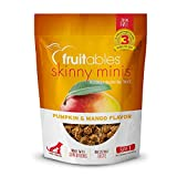 Fruitables Skinny Minis Grain Free Soft Treats for Dogs | Watermelon Flavor | 5 Ounces (2607)