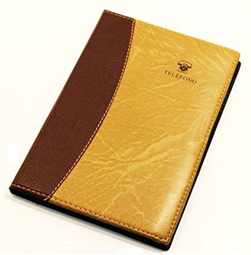 AGENDA RUBRICA TELEFONICA IN SIMILPELLE 145 X 210 mm